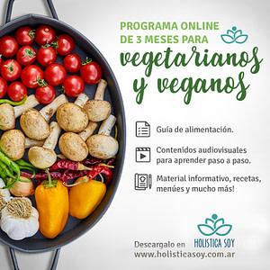 Holística Soy - programa para vegetarianos y veganos 1 1