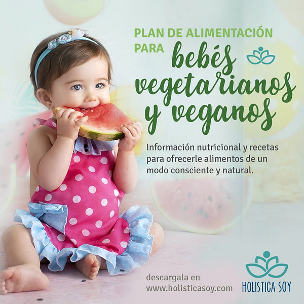 Holística Soy - bebe vegetariano 1