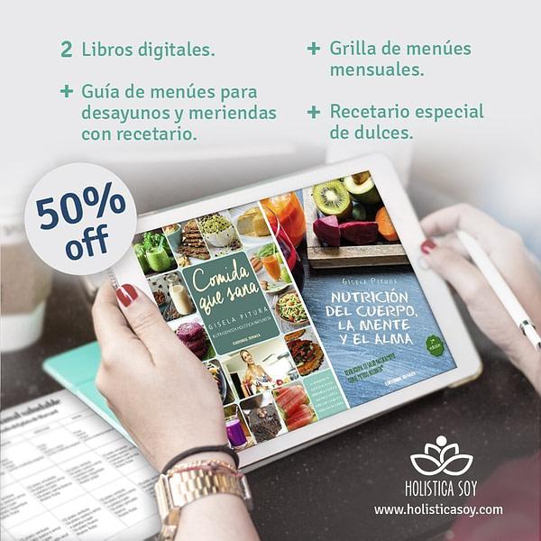 Holística Soy - tablet libros 1